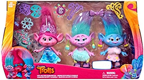 Envío 100% gratuito DreamWorks Trolls Poppy and Twins Celebration Pack Pack Pack - Contains over 20 Fashion Pieces by Trolls  El ultimo 2018