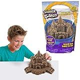 Kinetic Sand-Beach Sand Arena de Playa, 1,4 kg, Color no se Puede aplicar, 1, 4 kg (Spin Master 6028363)