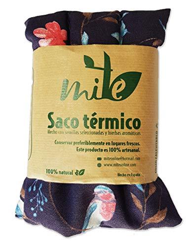 Saco térmico de semillas y hierbas multiusos (45cm x 15cm) Hierbabuena – MITE (Pájaros)