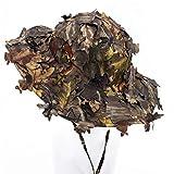 3D Blätter Camouflage Ghillie Caps Sniper Hüte Camo Sonnenschutz Baseball Caps für Angeln Jagd...