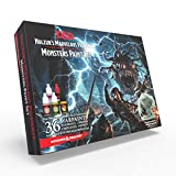 The Army Painter | Dungeons and Dragons Nolzur's Marvelous Pigments Monsters Paint Set | 36 colori acrilici per pittura di modelli in miniatura per giochi di ruolo e da tavolo