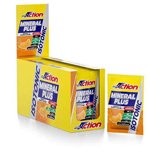 ProAction Mineral Plus (arancia, confezione da 30 bustine da 30 g)