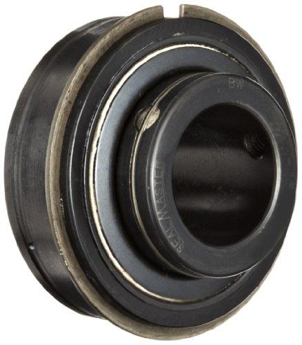 Sealmaster ERX-16 HIY Wide Inner Ring Ball Bearing, High Temperature, Expansion Type, Setscrew Locking Collar, Light Contact Nomex Felt Seals, Krytox GPL227 High Temperature Grease Lubrication, 1