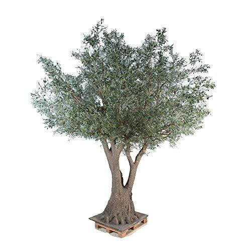 Kunstpflanze Olivenbäume (430 cm), hochwertig, Olivenbaum