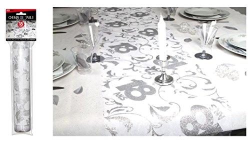 Surprisez vous - Chemin de table 18 ans - 28 cm x 5 m