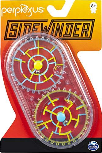 Spin Master Games 6053921 Perplexus Sidewinder - Juego de Laberinto 3D portátil con 2 laberintos, para niños a Partir de 8 años