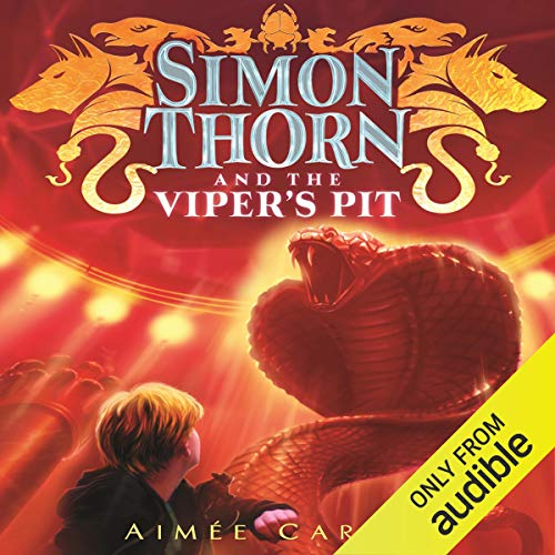 Couverture de Simon Thorn and the Viper's Pit