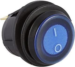 Yosoo 2Pcs 12V Car LED Light Illuminated On/Off Toggle Rocker Switch 3P SPST Waterproof