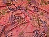 Lady McElroy Papageien-Jersey-Stoff, Pink, Meterware