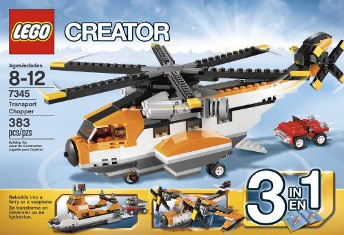 LEGO CREATOR TRANSPORT CHOPPER 7345