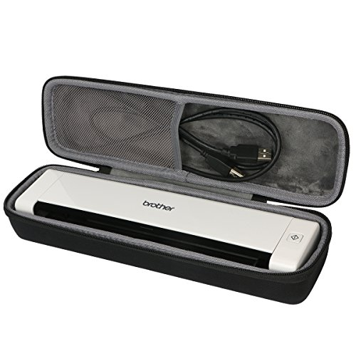 Cheap Hard Travel Case for Brother Mobile Color Page Scanner DS-720D by co2CREA