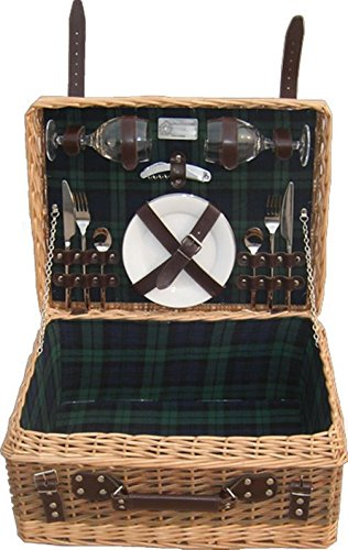 Red Hamper County Fitted Picnic Basket