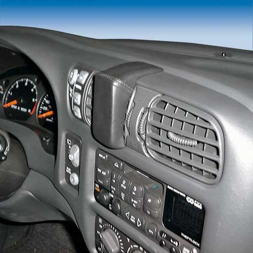 KUDA 250045 Halterung Kunstleder schwarz für Chevrolet Blazer (S-10) ab 2001 bis 2005