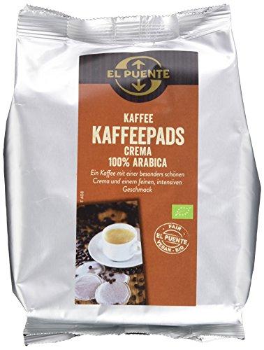 El Puente Kaffeepads Bio-Kaffee Crema, 5er Pack (5 x 126 g)