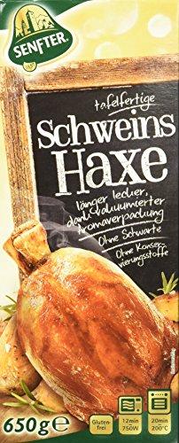 Senfter tafelfertige Schweinshaxe, 2er Pack (2 x 650 g)