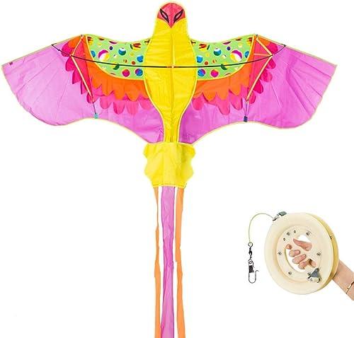 TYD.L Drachen J-094 Brise Leicht Zu Fliegen Langlebig Kind Erwachsener Phoenix Drachen Verwendet Für Im Freien Park Strand Geschenk 200  80CM Schwanzl e 35cm (Größe   Line length400M)