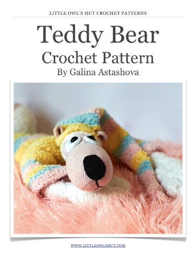 Original Little Bigfoot Bear Free Crochet Pattern | Crochet bear ... | 500x383