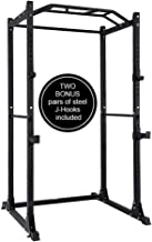 PAPABABE Power Rack Power Cage Workout Station Home Gym for Weightlifting Bodybuilding and Strength Training