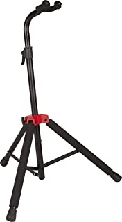 Fender Deluxe Hanging Guitar Stand, Black/Red