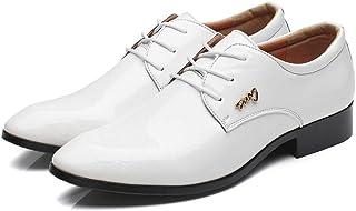 ce98969bb0ac62 Chaussure Homme Cuir, Brogues Homme Chaussures de Ville à Lacets Derby  d'affaires Richelieu