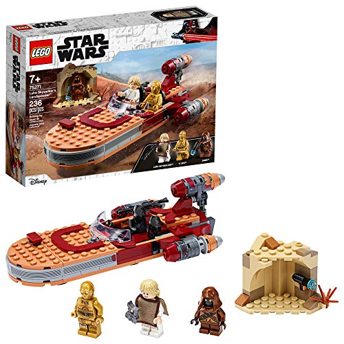 LEGO Star Wars: A New Hope Luke Skywalker?s Landspeeder 75271 Building Kit, Collectible Star Wars Set, New 2020 (236 Pieces)