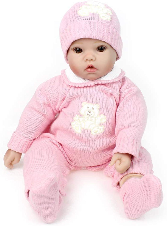 Schlafen Reborn Baby Doll Look Real Full Silikon Körper Jouets de poupée de Simulation Pour la meilleure Accompagner de la famille B07KN37VDB Ausgezeichnete Qualität  | Hochwertige Materialien