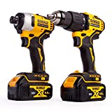 <span class='highlight'>DEWALT</span> DCK2062M2T 18V <span class='highlight'>XR</span> Brushless Compact Twin Pack 2 x 4.0Ah Batteries Charger