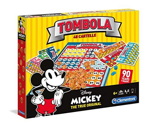 Clementoni Tombola 90s Mickey Mouse Disney Giochi da tavolo, Multicolore, 16556