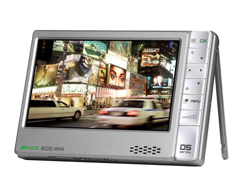 ARCHOS 605 WiFi MP3-/Video-Player 160 GB 10,9 cm (4,3 Zoll) Display Silber