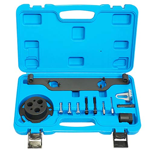 Camshaft Actuator Locking Timing Tool Cam Phaser Retainer Water Pump Sprocket Retainer Holding Tool Compatible with GM Ecotec 2.0 2.4 Engine Replace EN48953