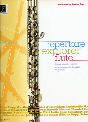 Repertoire Explorer: Piano Score & Flute Part Bk. 1: Graded Flute Pieces for Beginners