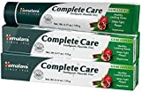 Himalaya Complete Care Toothpaste, Fluoride Free to Reduce Plaque and Brighten Teeth, 6.17 oz, 2 Pack