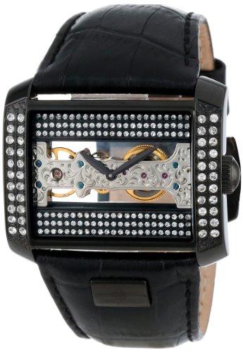 Burgmeister Armbanduhr für Damen mit Analog Anzeige, Handaufzug-Uhr und Lederarmband - Wasserdichte Damenuhr  mit zeitlosem, schickem Design - klassische, elegante Uhr für Frauen - BM152-602 Kap Verde