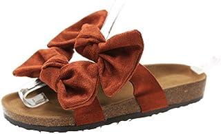 QLIGHA Womens Sandalen Bow Comfy Platform Sandaal Orthotische Schoenen PU Lederen Platte Zool Grote Teen Voetcorrectie San...
