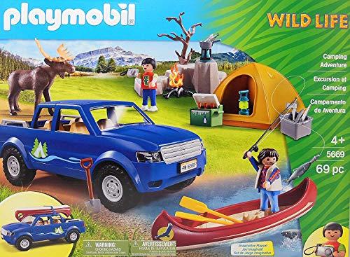 Playmobil 5669 Wildlife Camping Adventure Exklusiv