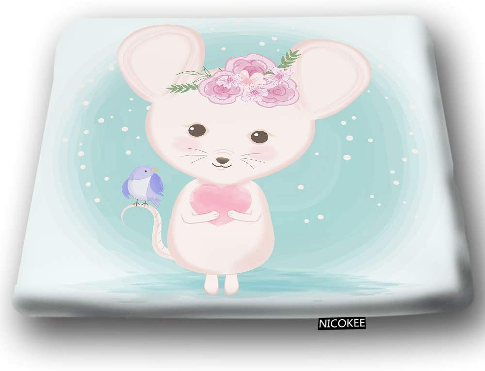 Nicokee Cute Mouse Chair Pad Cushion Animal All items Max 57% OFF in the store Bird Seat