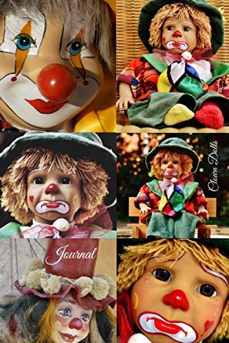 Clown Dolls Journal: Writing Journal 6x9