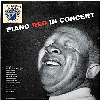 Piano Red in Concert