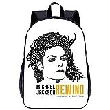 YWTW Michael Jackson Sac A? Dos Sac A Dos Isotherme Sac A Dos Femme Cartable Garçon Sac A Dos Ordinateur 15 Pouces Adultes Et Enfants Sac A? Dos