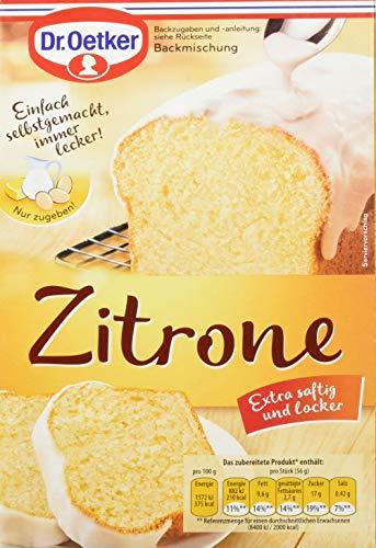 Dr. Oetker Zitronen- Kuchen, 8er Pack (8 x 485 g)