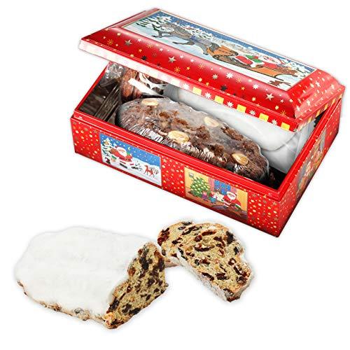 Geschenktruhe Weihnachtsmann, mit Lebkuchen, Christstollen und Gebäck; 710g