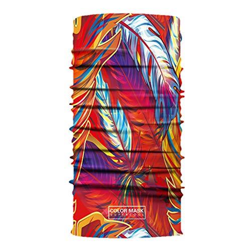 Pañuelo unisex mágico cuello mitad cara cubierta ciclismo bufanda estampada diadema deportes al aire libre 2