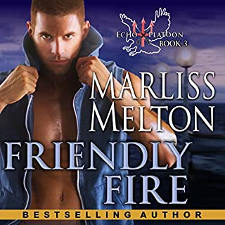 Friendly Fire     The Echo Platoon Series, Book 3              Written by:                                                                                                                                 Marliss Melton                               Narrated by:                                                                                                                                 Armen Taylor                      Length: 9 hrs and 8 mins     Not rated yet     Overall 0.0