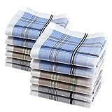 12 pañuelos de caballero - Modelo 'Lewis' - 40 centimetros