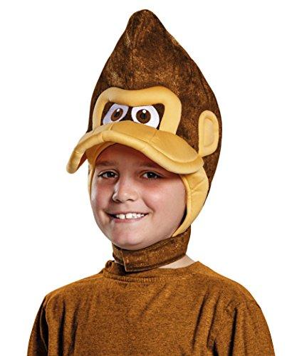 Donkey Kong Super Mario Bros. Nintendo Child Headpiece, One Size Child