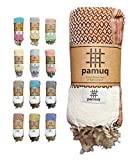 pamuq® Toalla de playa XXL, toalla de sauna, toalla de baño, toalla de hamam, grande, de...