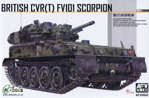 British FV-101 Scorpion 1-35 AVF Club