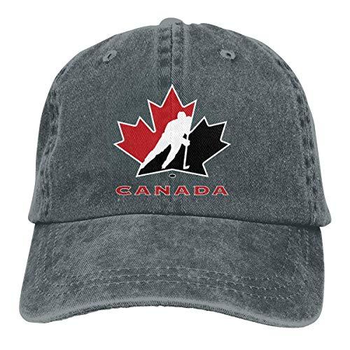 Hunter qiang Gorra de Camionero Logotipo del Equipo Nacional de Hockey sobre...