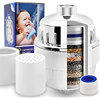 Universal Shower Filter with 15-Stage Filter Cartridge