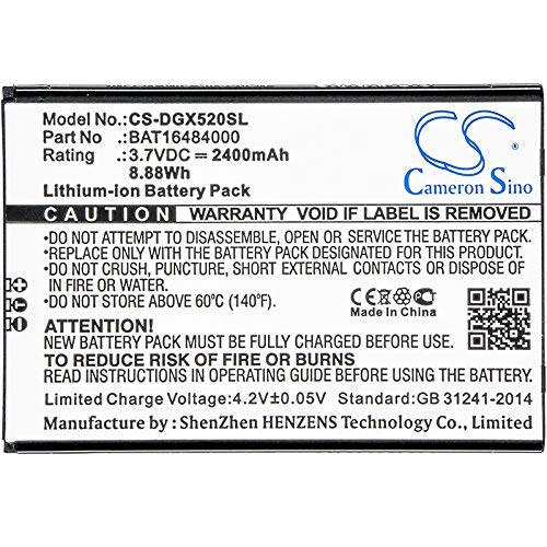 CS Cameron Sino 2400mAh Replacement Battery for Doogee X5 MAX Pro